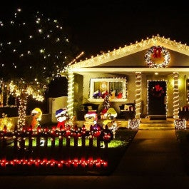 Reviewed: Solar Christmas lights that look great & save money