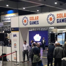 Intersolar North America's Solar Games turn installations into a competition