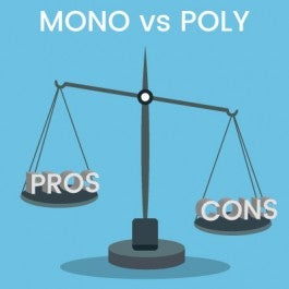 Pros and Cons of Monocrystalline vs Polycrystalline solar panels