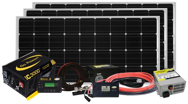 Go Power - Extreme solar charging system