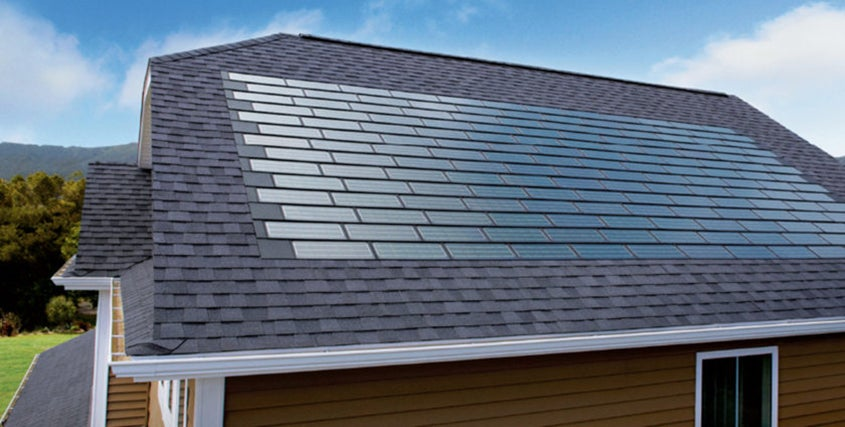 The Tesla Solar Panel Roof Reinvents Solar Shingles But