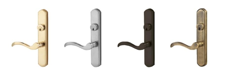ProVia storm door hardware options