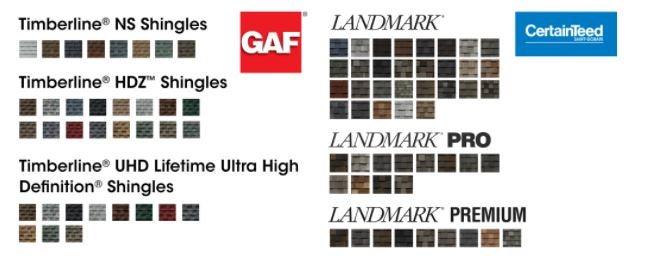 comparando opções de cor de telhas de linha de madeira vs telhas de linha de madeira