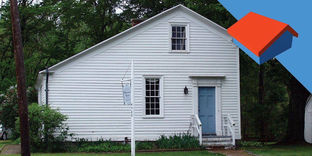 Saltbox roofs