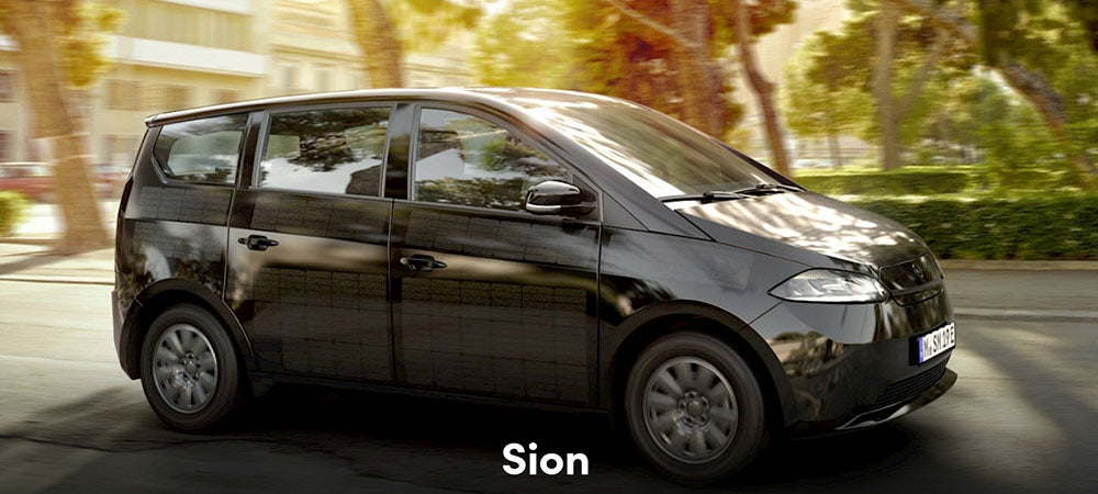 Sono Motors Sion with invisible solar cells