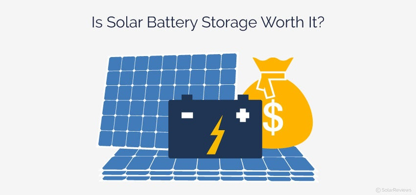 Solar Battery System >> Is Solar Battery Storage Worth It Given Current Solar Battery Cost