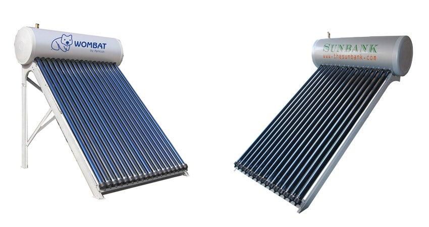 chauffe-eau solaires solaires et abricots