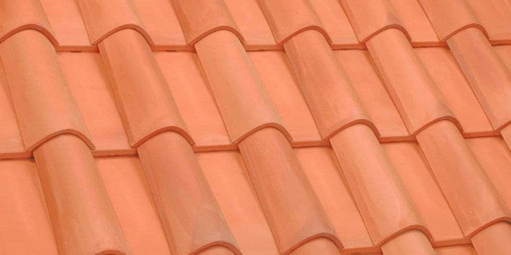 Spanish style clay tiles