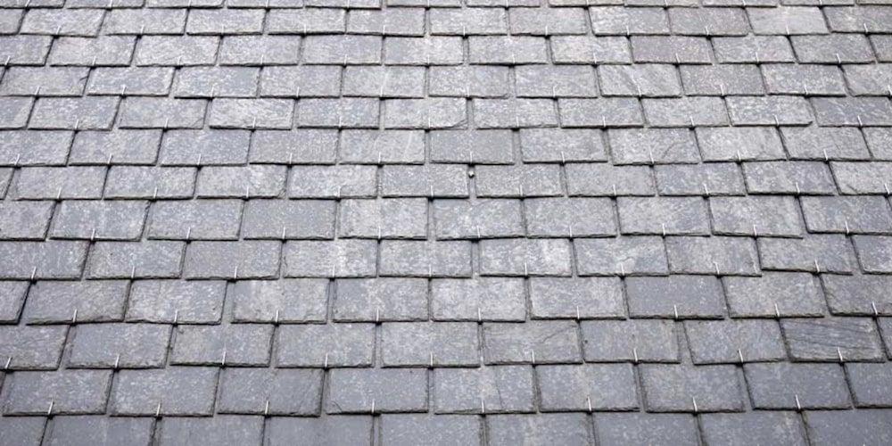 Standard uniform slate roof