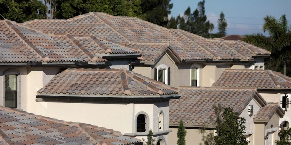 Concrete roof tiles style and versatility