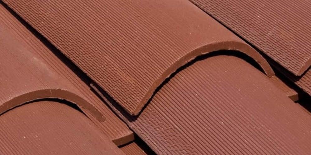 Traditional terracotta Spanish tiles