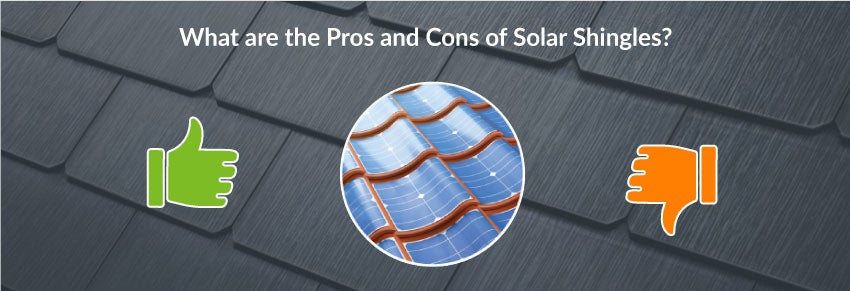 What are the pros and cons of tesla solar shingles
