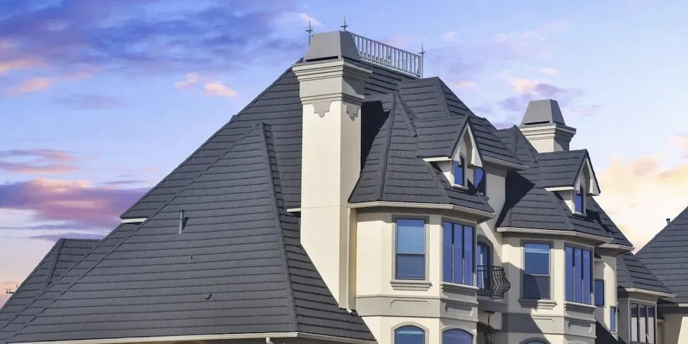 DECRA metal roof on a residential home