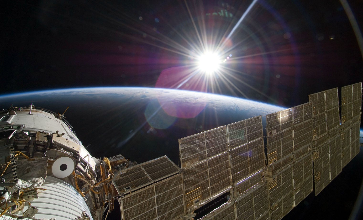 Multi-junction PV cells used in space, photo by NASA