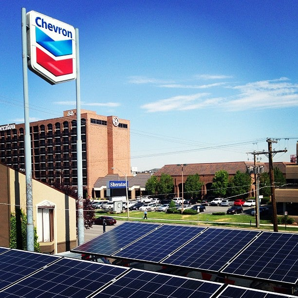 Solar Powered Gas Station Debuts In Salt Lake City