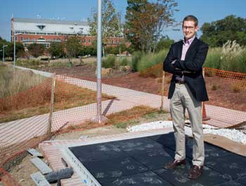 Gwu Introduces World S First Pv Sidewalk