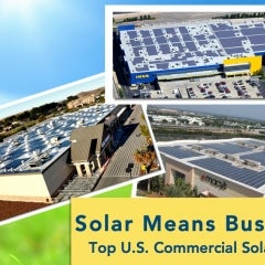 Companies' Use of Solar in U.S. Increases 40% Over 2012