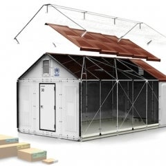 Ikea Shipping Flat-Packed Solar-Powered Shelters to Refugees
