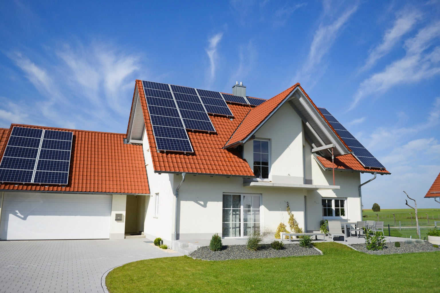 home solar panel power system