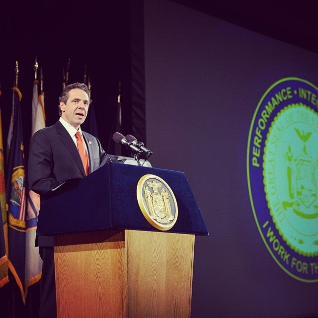 Gov. Cuomo delivering state of the state speech