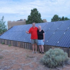 Positive Energy Solar Leads New Mexico in Distributed Solar Installations