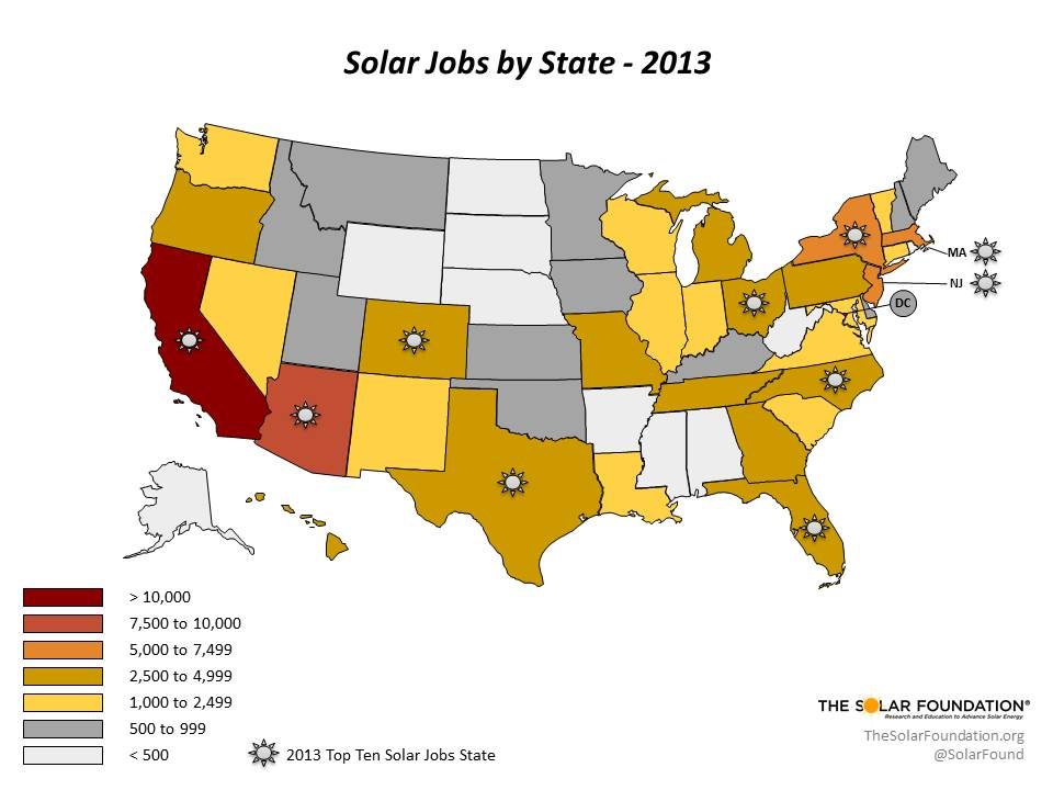 National Solar Jobs Census Shows Rapid Solar Growth in Conservative