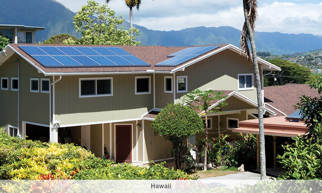 A SolarCity installation in Hawaii