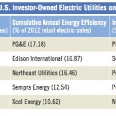 New Report Ranks Utilities on Clean Energy Buys
