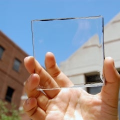 Michigan State University Researchers Create See-Through Solar Concentrator