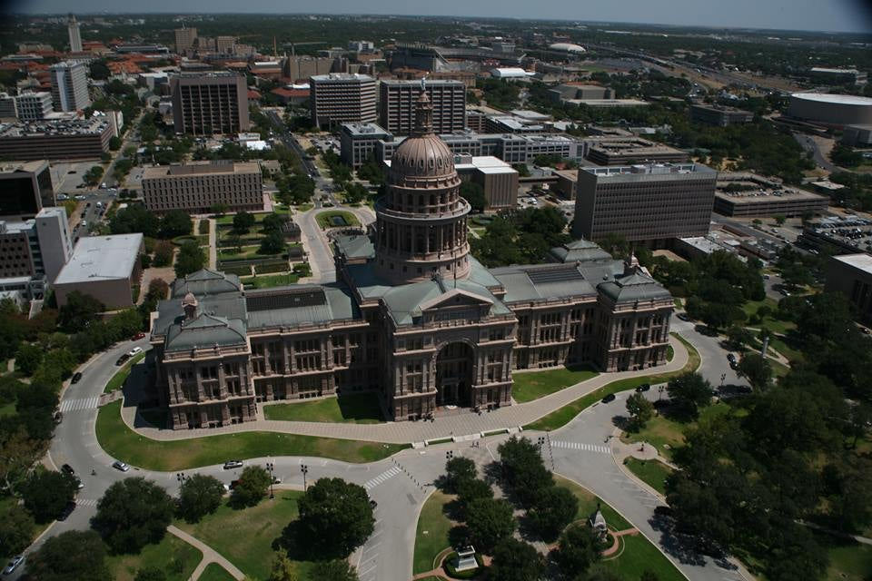 Austin's Capitol. Courtesy Texas Capitol Visiter Center's Facebook page.
