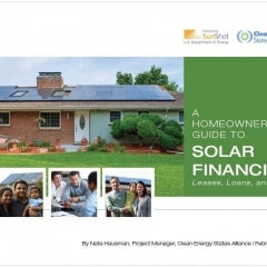 Now Available: A Free Guide to Home Solar Financing Options