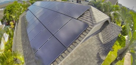 A Solar Frontier installation on a home. Courtesy Solar Frontier