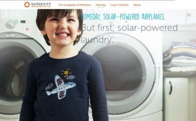 Kids and solar power. Courtesy Sungevity