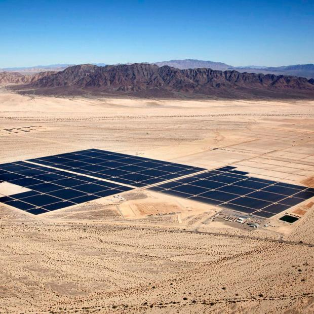 First Solar Desert Sunlight project. Courtesy SEIA