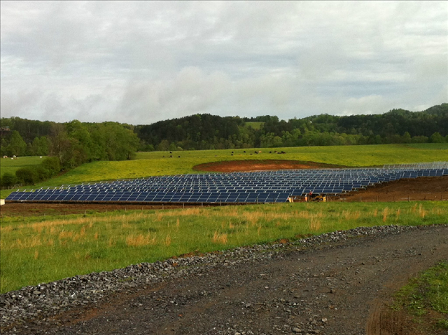 A Sunrise Energy Ventures installation in North Carolina. Courtesy Sunrise Energy Ventures