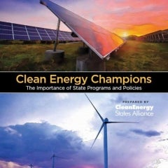 Clean Energy States Alliance Report Shows how State Policy Impacts Renewable Energy