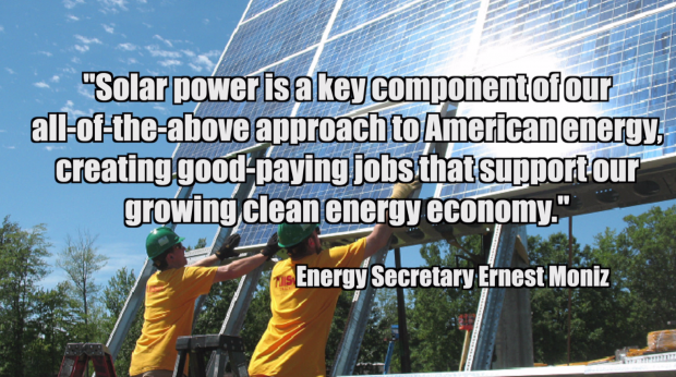 Slide from SEIA video about solar's jobs growth. Courtesy SEIA