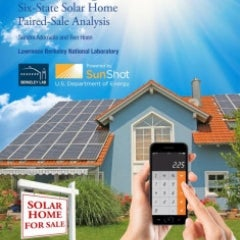 New Report Finds Solar Adds Value to Homes in Six States