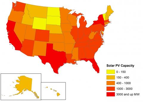 Potential for solar at box stores. Courtesy Environment America