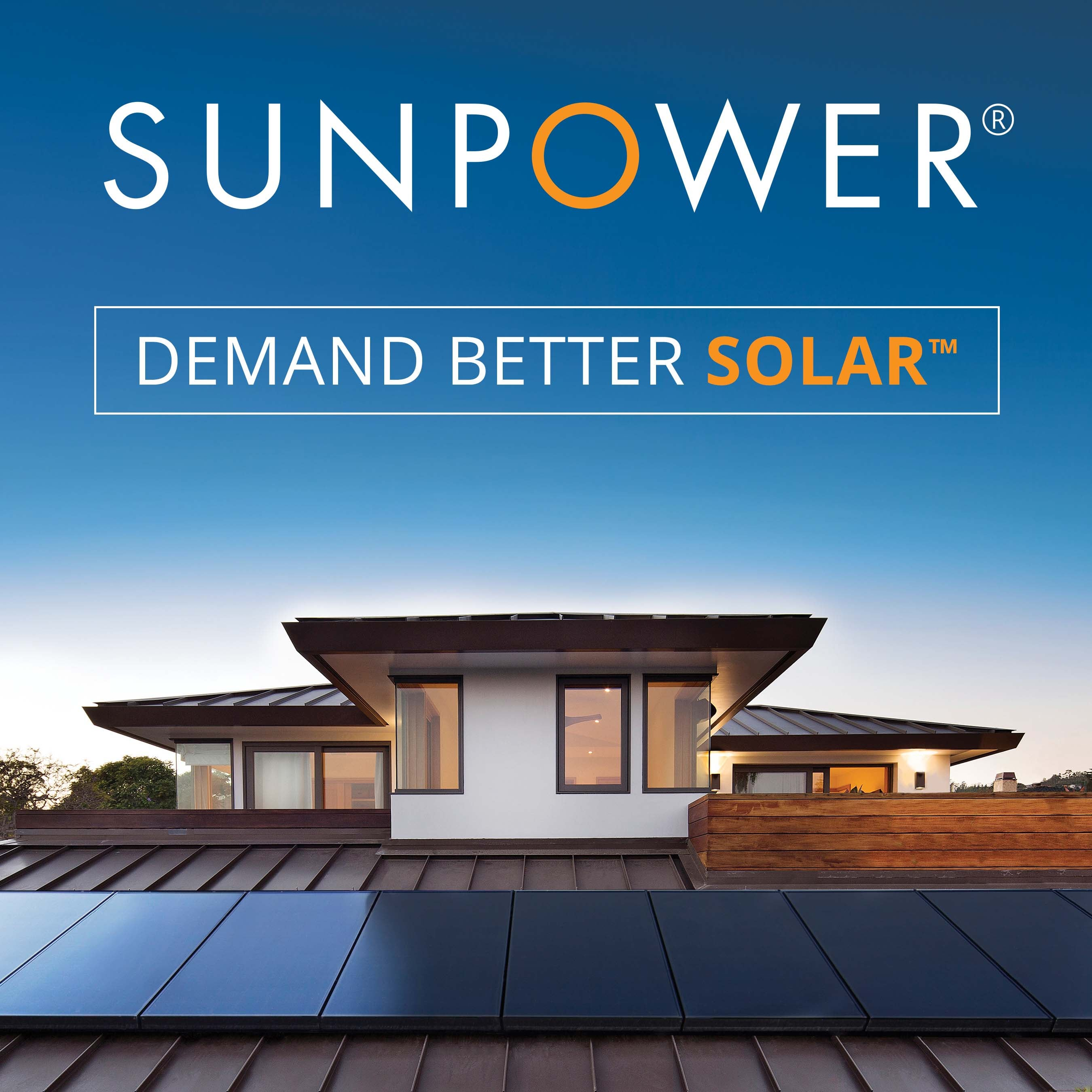 Demand Better Solar. SunPower ad