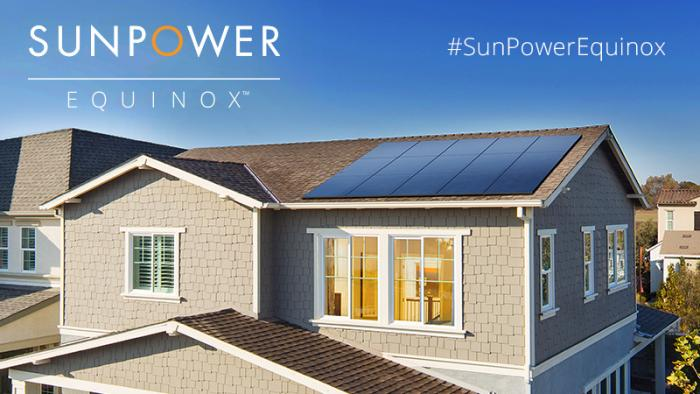 SunPower Equinox Banner. Courtesy SunPower