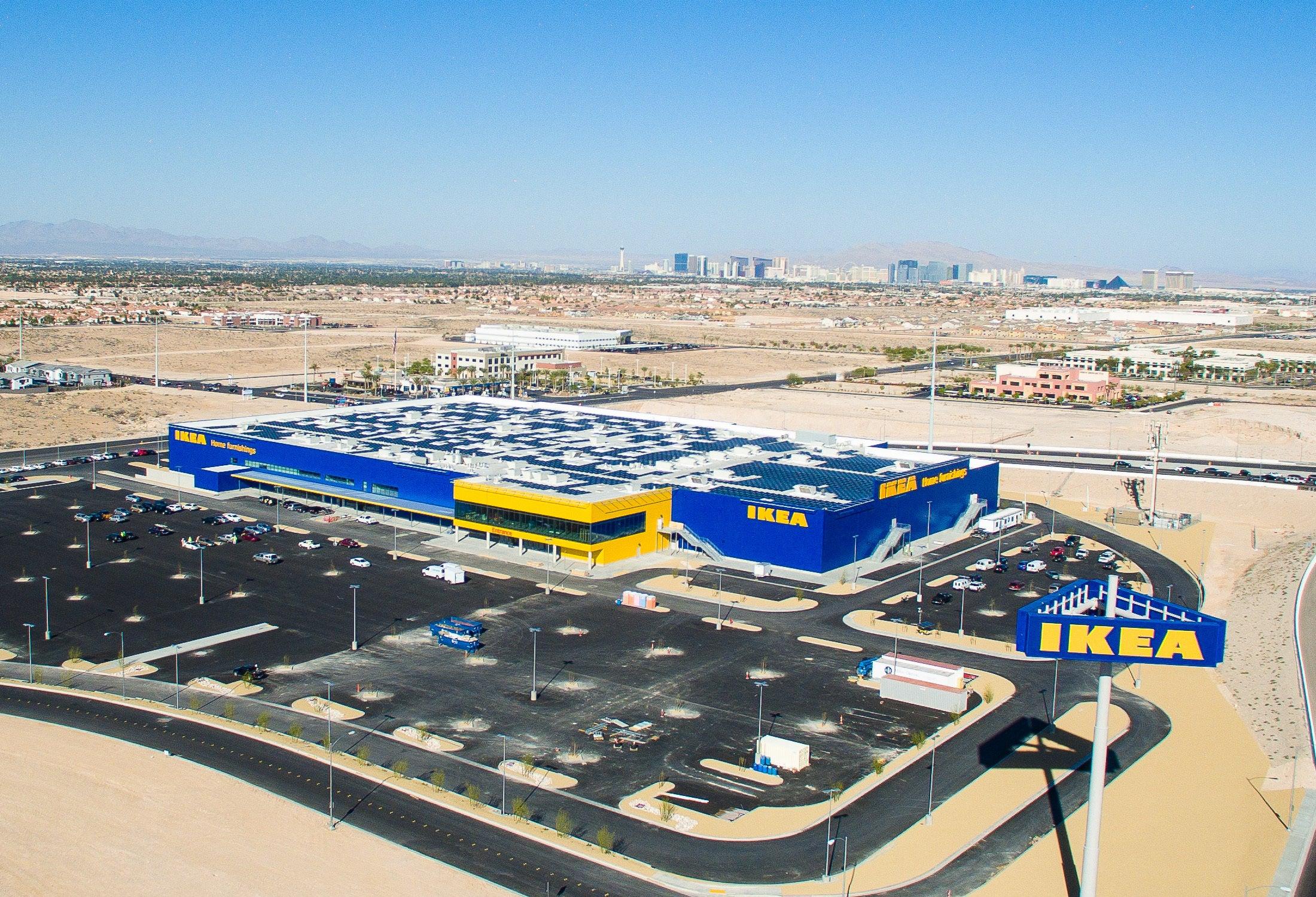 Ikea S Solar Array In Memphis Courtesy