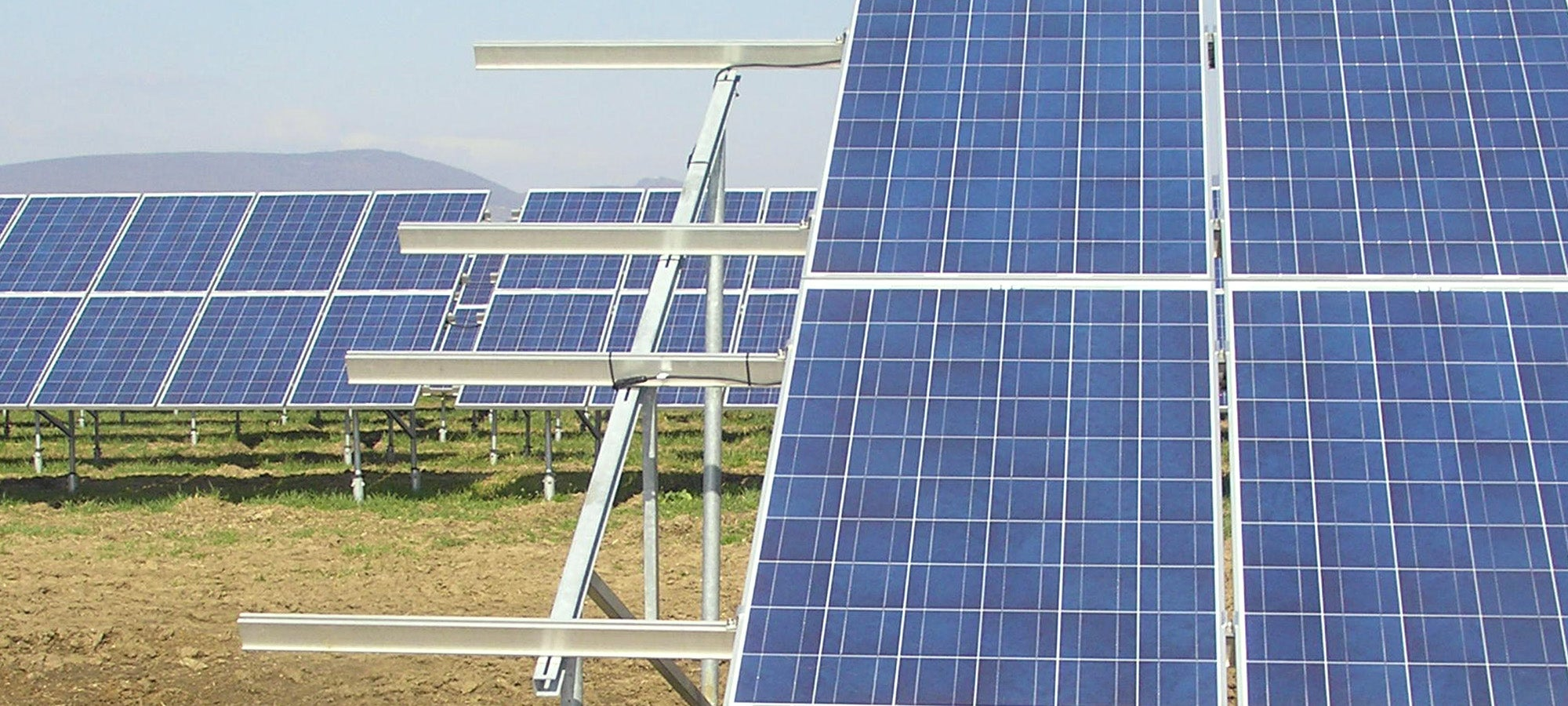 An Origis Energy solar farm. Courtesy Origis Energy