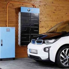BMW Enters Solar Home Energy Storage Market