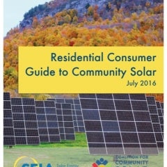 Curious About Community Solar for Your Home? Check out Solar Groups' new Guide