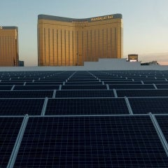 Mandalay Bay Bets on the Sun With Nation's Largest Solar Rooftop