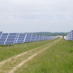 Study Finds That Solar Panels Cool Local Climates