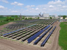 Rock River Solar Project. Courtesy Alliant Energy