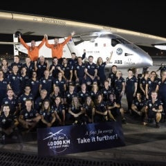 Solar Impulse Completes First Manned, Solar-Powered Flight Around the World
