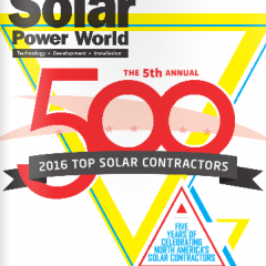 SolarReviews.com Analysis Behind Solar Power World's 2016 Top 500 Solar Contractors List